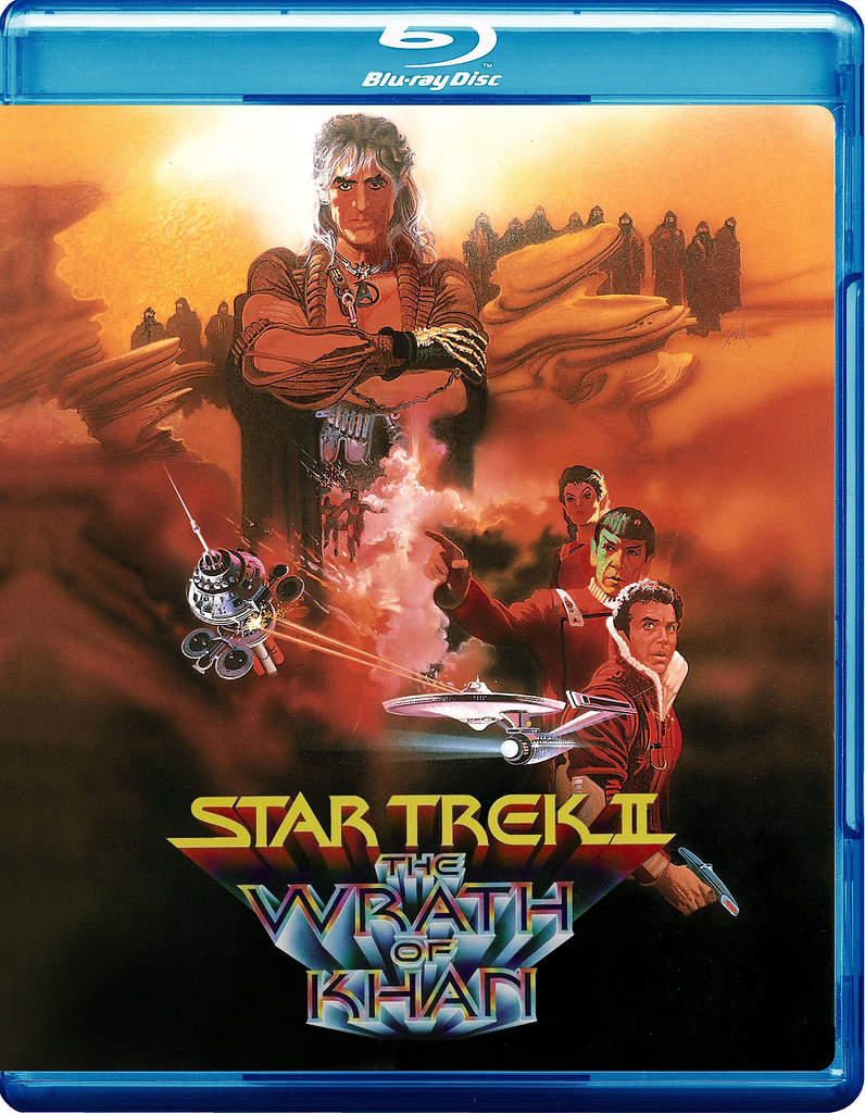 star trek wrath of khan blu ray review