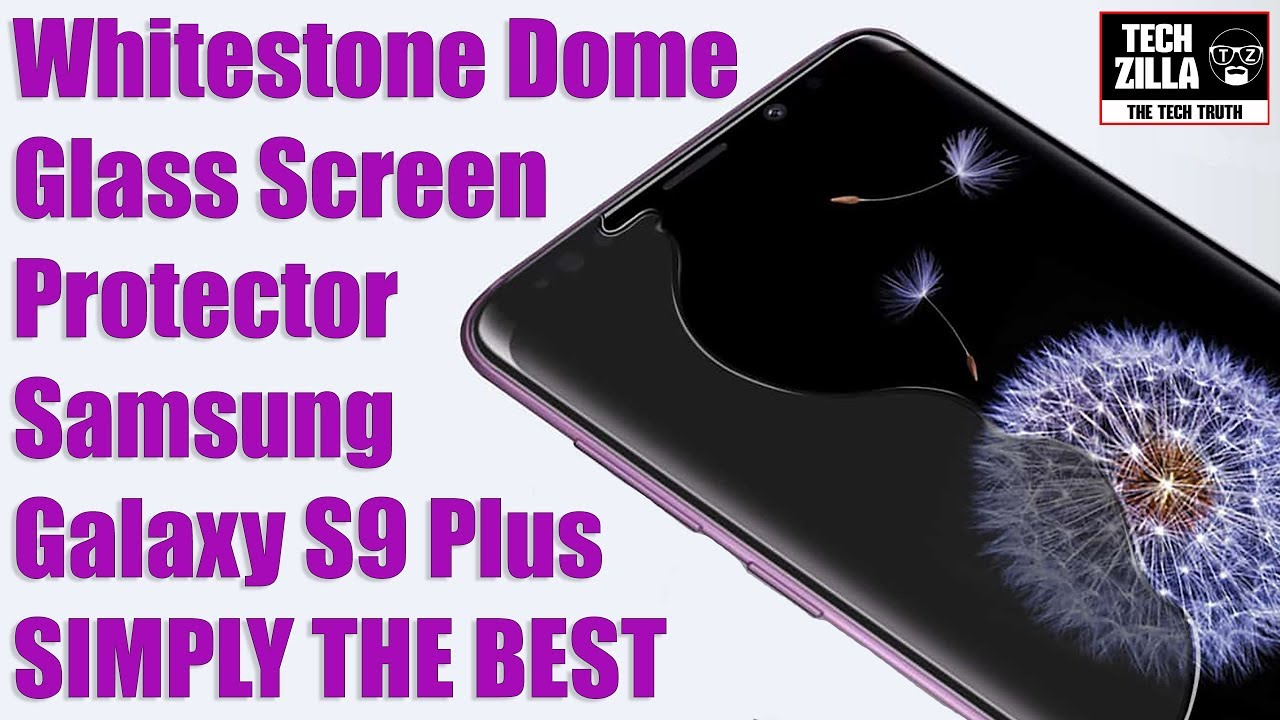 s9 plus screen protector review