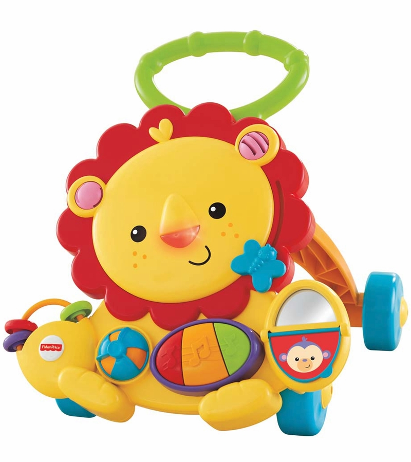 fisher price lion walker review