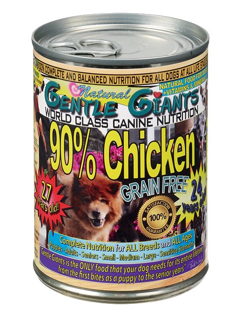 gentle giants dog food reviews
