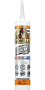 gorilla paintable silicone sealant reviews
