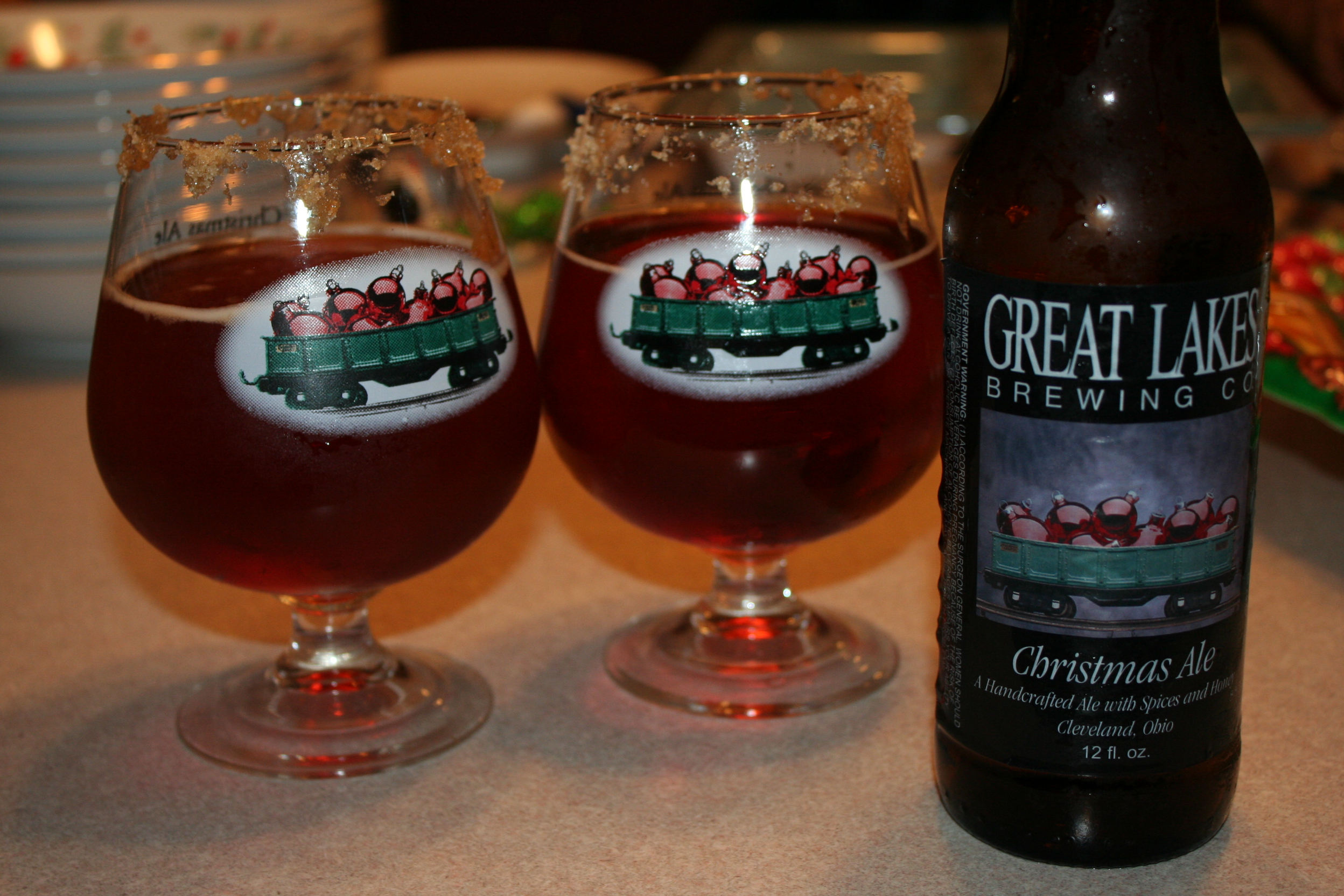 great lakes christmas ale review
