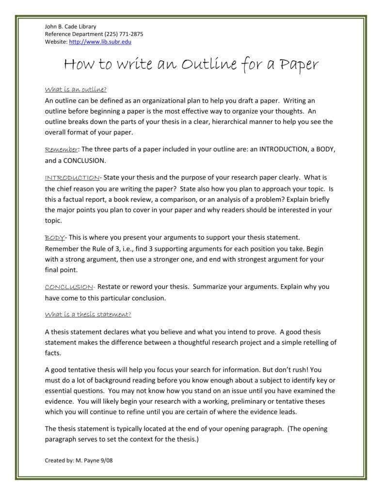 how to write review of a research paper