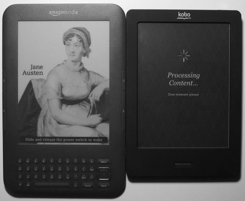 kobo ereader review vs kindle