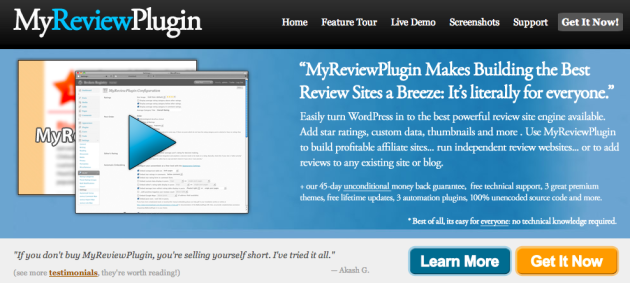 review wordpress theme for affiliate marketing review sites