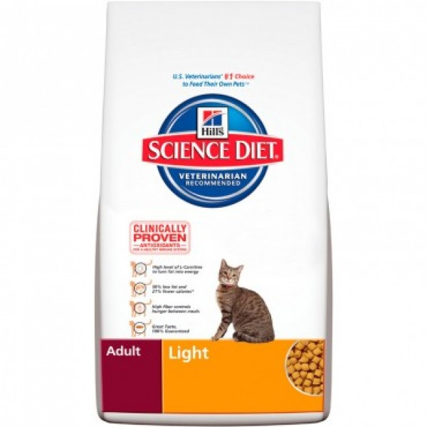 science diet light cat food reviews