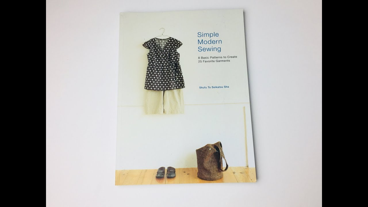 simple modern sewing book review