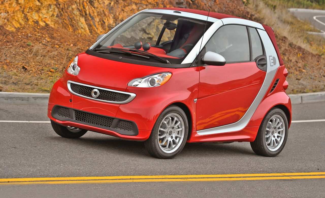 smart fortwo electric drive review