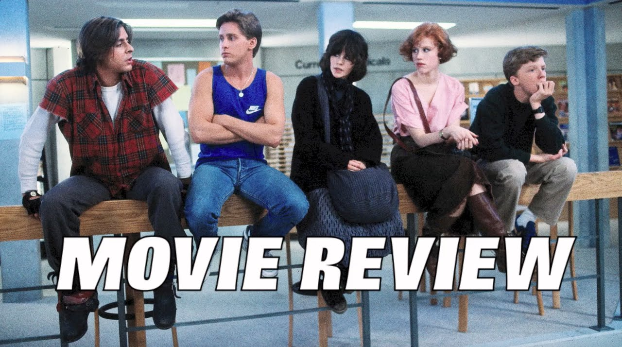 the breakfast club movie review