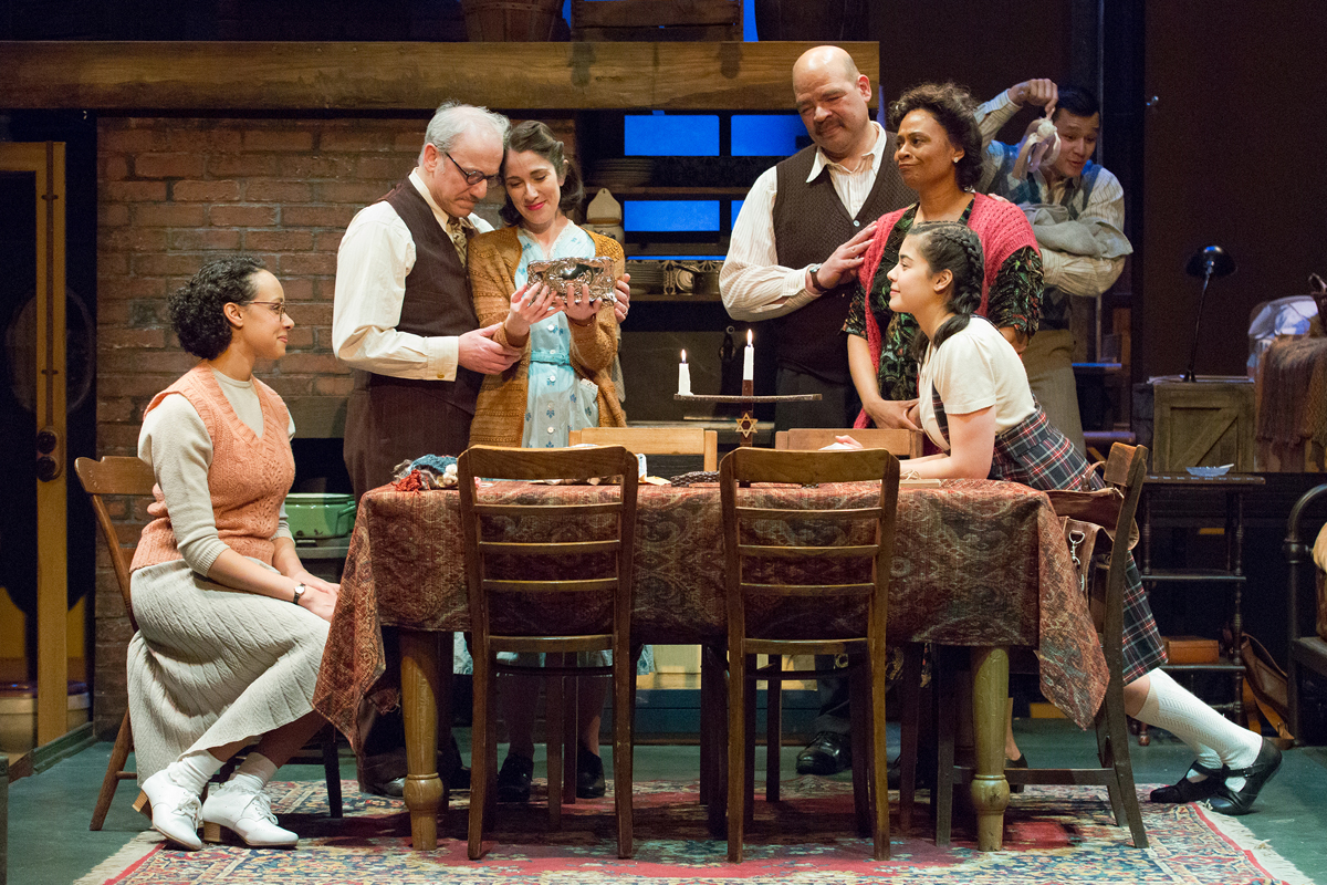the diary of anne frank play review